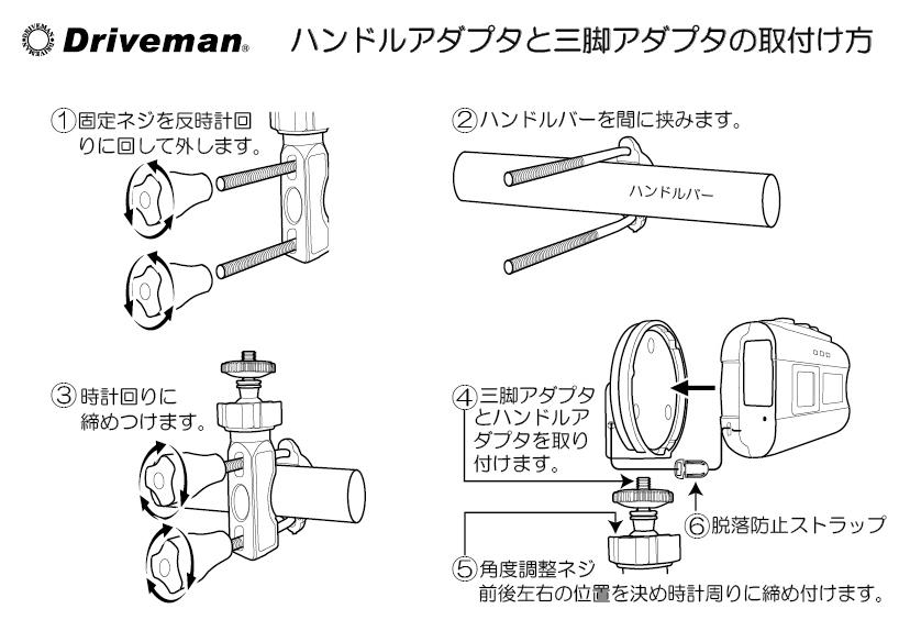 画像2: [オプション]BS-8/10シリーズ対応 ハンドルU字クランプアダプタ