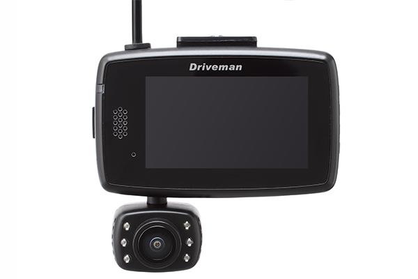 画像2: [2カメラ一体型]ドライブレコーダー Driveman TG-1
