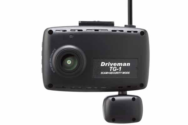 画像1: [2カメラ一体型]ドライブレコーダー Driveman TG-1